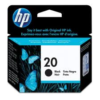 HP No 20 C6614D Black Ink Cartridge