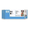 HP No 84 C9430A 3 pack Black Ink Cartridge
