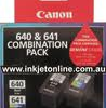 Canon PG-640 CL-641 Value Pack Ink Cartridges