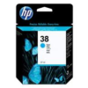 HP No 38 C9415A Cyan Ink Cartridge