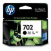 HP No. 702 CC660AA Black Ink Cartridge