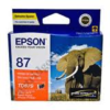 Epson T0879 Orange Ink Cartridge