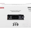 Canon CART319 LBP6300dn Laser Toner Cartridge