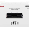 Canon CART319II LBP6650dn Laser Toner Cartridge