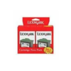 Lexmark #16 10N0016 Black Ink Twin Pack
