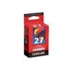 Lexmark #27 10N0227 Colour Ink Cartridge