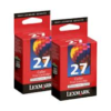 Lexmark #27 10N0227 Colour Ink Twin Pack