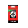 Lexmark #42 18Y0142A Black Return Program Ink Cartridge