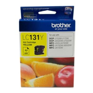 BROTHER LC-131YELLOW INK Cartridge