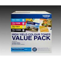 Brother TN-155 High Yield Toner Cartridge Value Pack