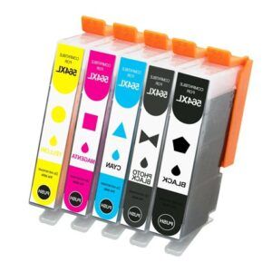 Compatible HP No. 564 Value Pack inc. Photo Black Ink Cartridge