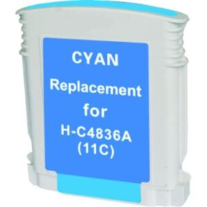 Compatible Ink Cartridge for HP C4836A No 11 Cyan